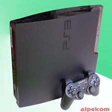 PS3 Sony PLAYSTATION 3 Console 12-500 GB 1-2 Originale Sony Controller + Giochi