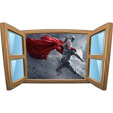 Sticker enfant fenêtre Thor réf 995 995
