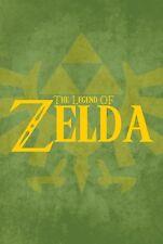 La leggenda di Zelda art print poster T1032