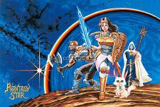 RGC Huge Poster - Phantasy Star Sega Master Genesis - EXT095