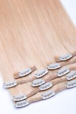 Monatsangebot Echthaar Haarverlängerung Clip In Extensions 40 cm Glamxtensions