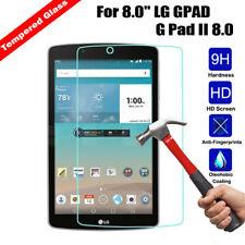 Real Tempered Glass Screen Protector  Cover For LG G pad V495 V930 V498 Tablet
