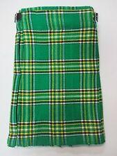 Irish Heritage Tartan Childrens Kids Boys Kilt  Waist Sizes 20, 22, 24, 26