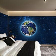 3d Universe earth wall mural fotocarta wallpaper wall background image print