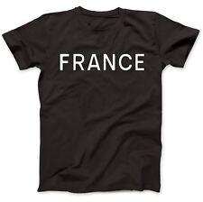 La Francia come indossato da George T-shirt 100% Cotone Premium Harrison