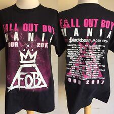"FALL OUT BOY (2017) ""Mania"" US Concert Tour Dates FOB T-Shirt Size S/M/L"