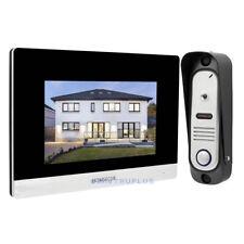 7'' TouchScreen Smart Video Entry Intercom Support CCTV Camera for Surveillance