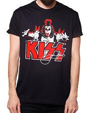 La marca del diablo [Kiss Gene Simmons Signature] t-shirt rockabilly rocker Harl