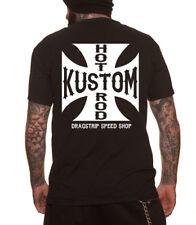 Dragstrip vêtements DAAA Motard t`shirt croix de fer t`shirt Speed Shop 13 t`shirt
