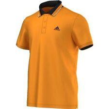 Adidas para hombre Naranja Quemado Ess Polo Camisetas Camiseta Casual AK1760