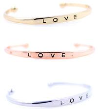 Fashion chic love open bracelet, multiple colours