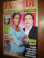Tv Mia.FIONA MAY & NINO FRASSICA,ppp