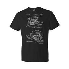 Chrysler 220 Slant Six Engine Shirt Mechanic Gift Race Car Tee Engine Blueprint