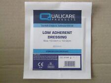 5 x Low Adherent Dressing Pad 5cm x 5cm, 7.5cm x 7.5cm, 10cm x 10cm