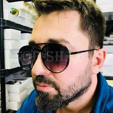 Thick Frame Oversized Round Oval Aviator Fashion Designer Sunglasses Mens Womens