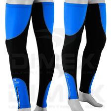 Cycling Leg Warmers Winter Running Thermal Roubix Cycle Knee Blue - S/M - L/XL