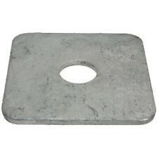 Square Heavy Washer M10 (10mm) x 50mm x 50mm x 3mm Metric SQR HDG Galvanised