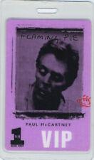 PAUL McCARTNEY VH1 1997 LAMINATED BACKSTAGE PASS VIP
