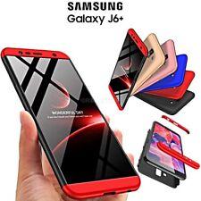 COVER per Samsung Galaxy J6+ PLUS CUSTODIA Fronte Retro 360 ORIGINALE ARMOR CASE