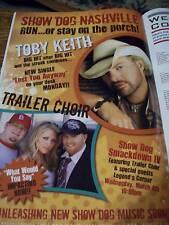 Jumbo Toby Keith John Rich Trade Magazine Ad