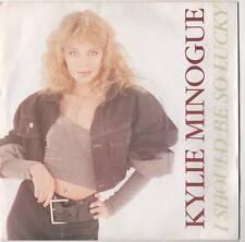 "Kylie Minogue - I Should Be Lucky 7"" Single 1987"