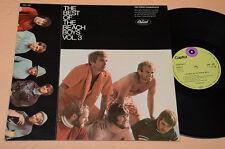 BEACH BOYS LP THE BEST ORIG GERMANY CAPITOL SMK 1021 !! OTTIMO EX--