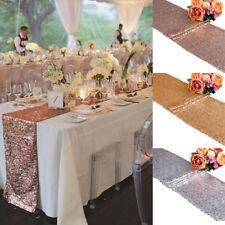 Nappe Paillettes Brillante de Table (30*275cm) Décoration Mariage Anniversaire