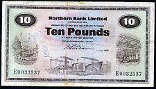 Northern Bank Ltd £10 Ten Pound banknote 1970 1975 1976 1981 1986 1987 1988