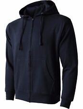 HC MENS HOODIE Jacket ZIP UP Fleece Pocket Sport Active Hooded Shirt Midweight