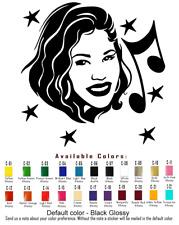 Selena Vinyl Decal Sticker Car Window Singer Actress Music Fashion American Idol