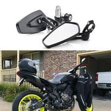 "Custom Motorcycle 7/8"" Handle Bar End Mirrors For Yamaha R1 R6 FZ10 FZ-09 MT-07"