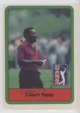 1982 Donruss Golf Stars #43 Calvin Peete Card