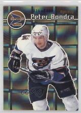 1999-00 Pacific Prism Holographic Gold 146 Peter Bondra Washington Capitals Card