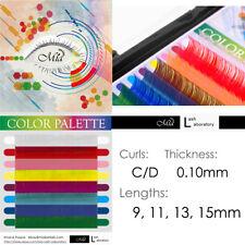 Mia Color Lash Palette Rainbow Individual Eyelash Extensions with 8 colors