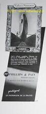 EXTINCTEUR PHILLIPS & PAIN CGT LIBERTE publicité 1950