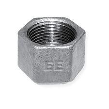 Beaded Hollow Cap - Malleable Galvanised Iron