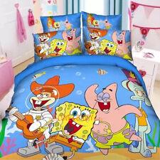 SpongeBob Single/King Single Size Bed Quilt/Doona/Duvet Cover Set Pillow Case