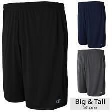 Big Men's Champion Athletic Shorts Moisture Wicking 3XL 4XL 5XL 6XL Vapor Tech