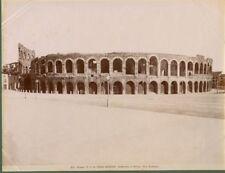 VERONA. L'Arena. Bella fotografia fine 1800