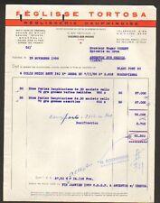 """VALENCE (26) REGLISSERIE """"REGLISSE TORTOSA"""" en 1958"""