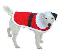 GOOD Boy Dog Puppy Santa Natale Xmas festosa Inverno Cappotto Giacca XS S M L XXL