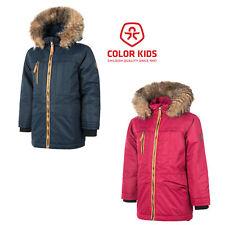 Color Kids Rakata padded Parka Air flo 2000 Winterjacke Kinder Kinderjacke