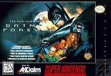 ***BATMAN FOREVER SNES SUPER NINTENDO GAME COSMETIC WEAR~~~
