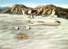 """YUKLA27"" Don Feight E-3 AWACS Print"