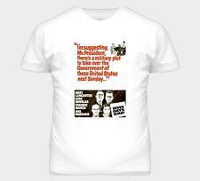 Seven 7 Days In May Burt Lancaster Kirk Douglas Movie Graphic T Shirt