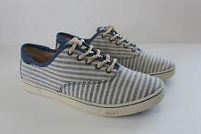 Ugg Australia Women Eyan II Nautical Striped Navy Sneakers Shoe NIB 7 8.5