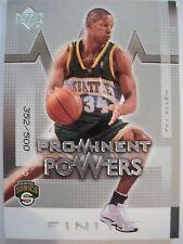 2003-04 UPPER DECK FINITE PROMINENT POWERS RAY ALLEN 352 / 500 SONICS!! BOX 5
