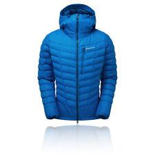Montane Mens Ground Control Jacket Top - Blue Sports Outdoors Climbing Full Zip