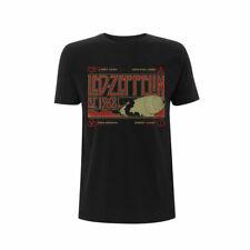 Led Zeppelin T Shirt & Smoke Est 1968 Officially Licensed Black Rock Band Tee