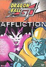 DRAGON BALL GT AFFLICTION DVD - STEPHANIE NADOLNY - ELISE BAUGHMAN - ANIME